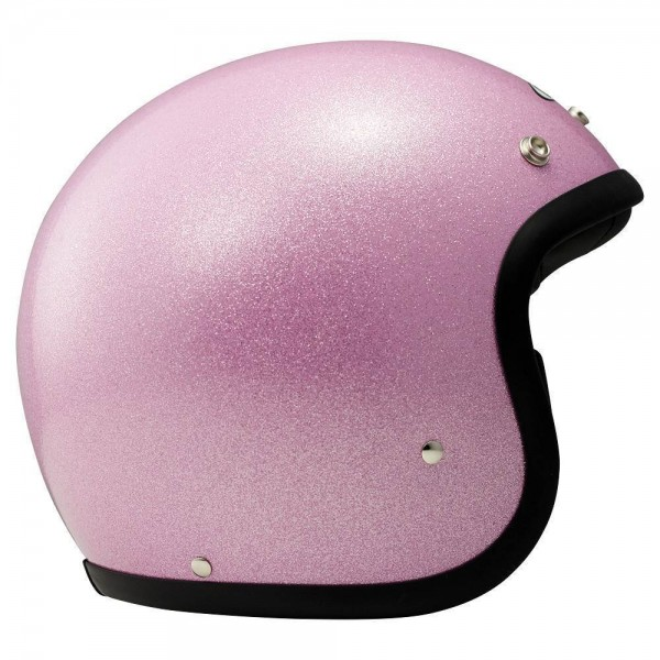 DMD Vintage Glitter Pink Jethelm