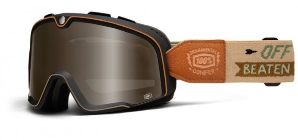 """100% BARSTOW - """"Ornamental Conifer"""" - vintage motocross goggles"""