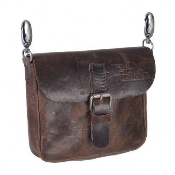 "ROKKER - ""Belt Bag"" - dark brown"