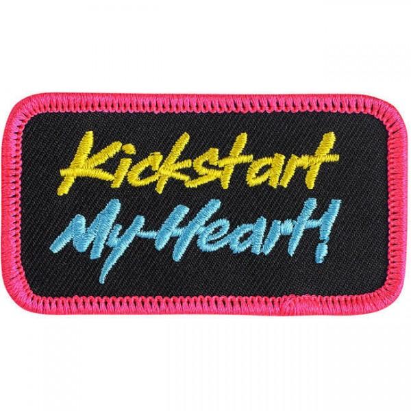 """BILTWELL Aufnäher - """"Kickstart My Heart"""""""