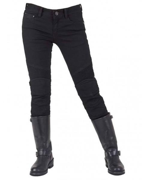 "uglyBROS Women's Jeans - ""Twiggy-K"" - Kevlar, black"