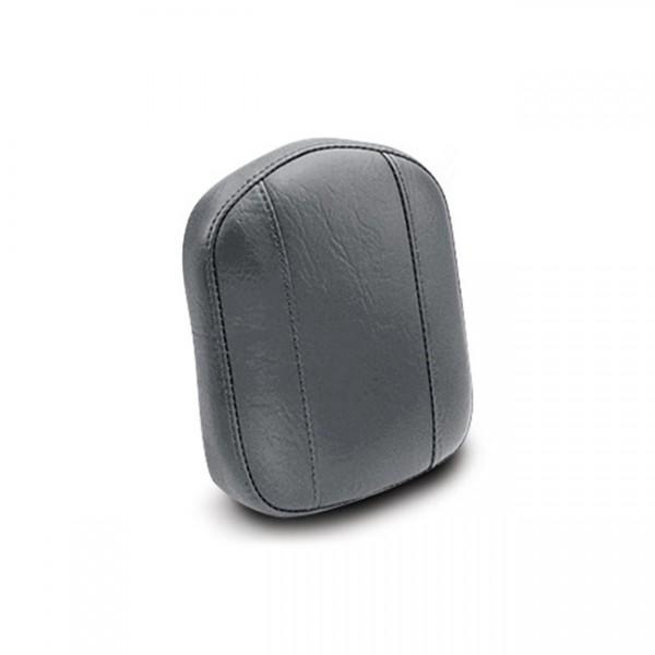 "MUSTANG Sitz - ""Mustang vintage sissy bar pad plain black"" - Kawasaki: 06-20 Vulcan 900 Classic, 09-"