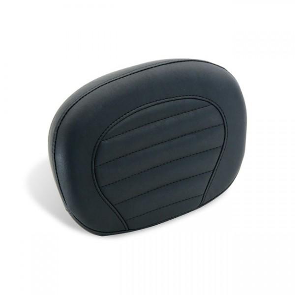 "MUSTANG Seat - ""Mustang sissy bar pad plain black"" - 01-15 Triumph Bonneville, T100, Scrambler, 01-15 Triumph Thruxton; 2012 Triumph SE"