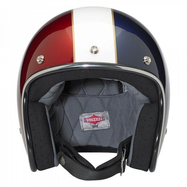 "BILTWELL - ""Bonanza LE Racer"" - red, white & blue - DOT"