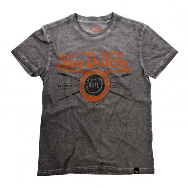 """VON DUTCH T-Shirt - """"Original"""" - olivegrün"""