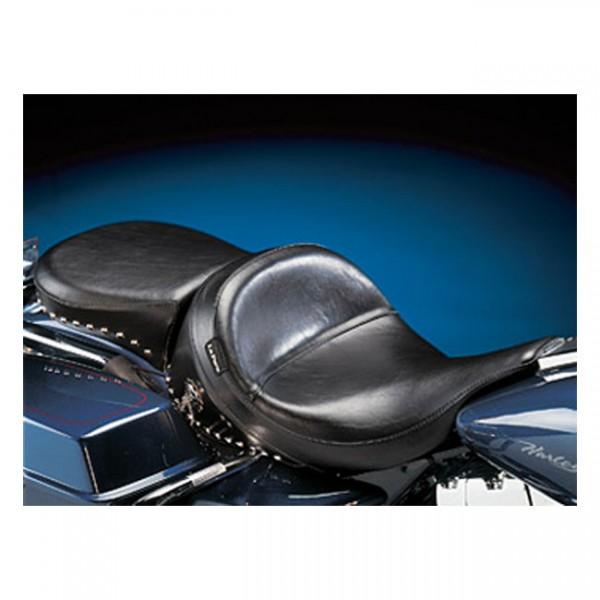 """LEPERA Seat - """"LePera, Monterey 2-up seat. Smooth"""" - 97-01 FLHR(NU)"""
