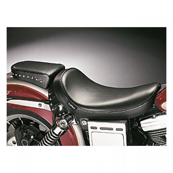 """LEPERA Seat - """"LePera, Sanora solo seat. Smooth with skirt"""" - 91-95 Dyna (excl. FXDWG) (NU)"""