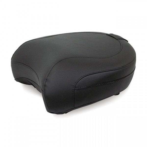 """MUSTANG Sitz - """"Mustang, passenger seat. Recessed with backrest receiver"""" - 97-20 FLT/Touring"""