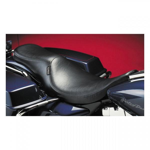 "LEPERA Seat - ""LePera, Silhouette 2-up seat"" - 91-96 FLT Touring (excl. FLHR Road King) (NU)"