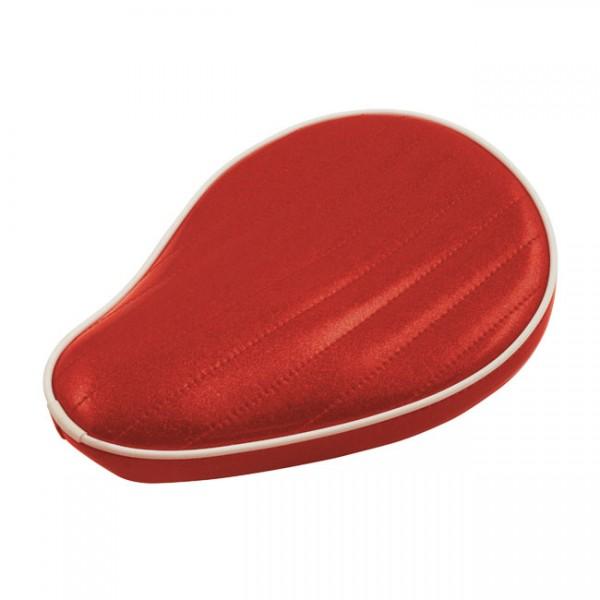 """LEPERA Seat - """"LePera, Spring mounted Metalflake solo seat. Candy Red"""" -"""