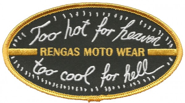 "RENGAS Patch - ""Too Hot for Heaven too Cool for Hell"""