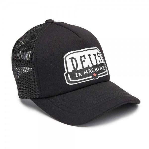 "DEUS EX MACHINA Hat - ""Yeeha Trucker"" - black"
