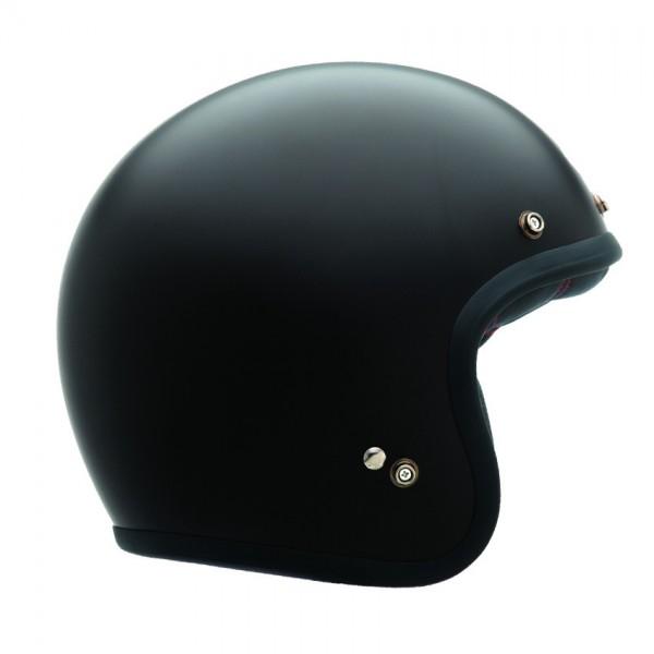 "BELL Custom 500 - ""Solid Matte Black"" - ECE"