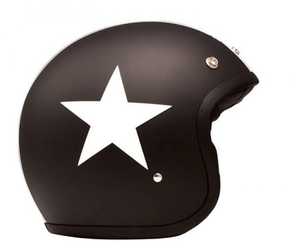 DMD Jethelm Vintage Star Black