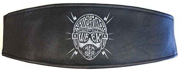 "MEINDL Kidney Belt - ""Club of Newchurch Water Buffalo"" - black"