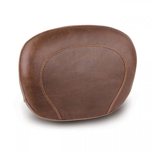 """MUSTANG Seat - """"Mustang, sissy bar back pad. Brown"""" - 97-20 FLHR, FLHT, FLTR; 06-20 FLHX"""