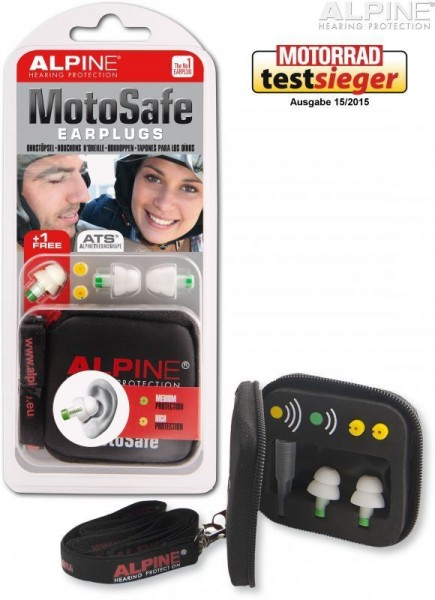 "ALPINE Ear Plugs - ""MotoSafe"""