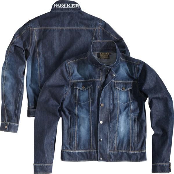 """ROKKER Jacket - """"Revolution"""" - waterproof, blue"""