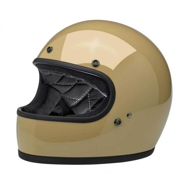Biltwell Helmet Gringo Coyote Tan with ECE DOT