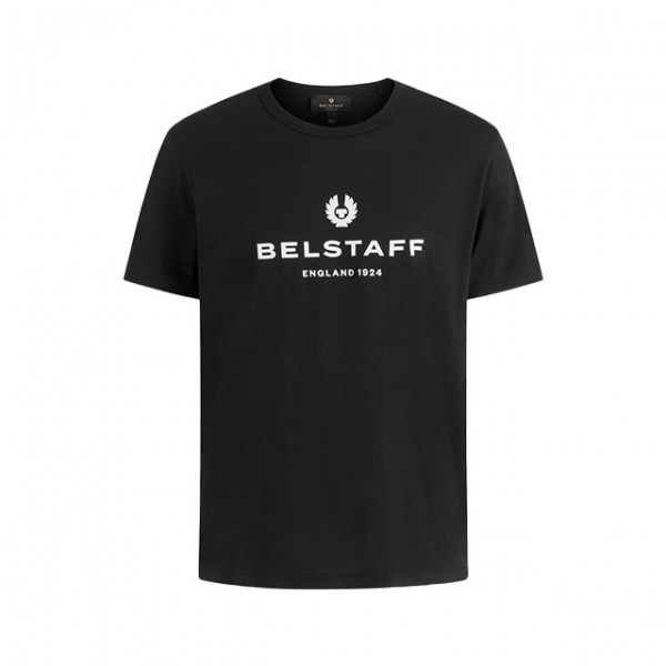 BELSTAFF T-Shirt 1924 in Schwarz