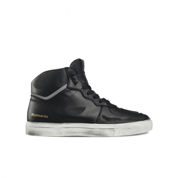 STYLMARTIN Motorrad Sneaker Tony Hook Ltd in Schwarz