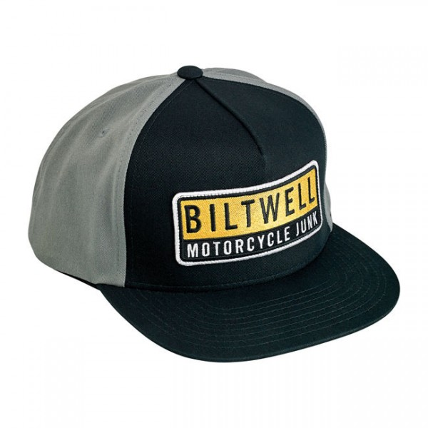 "BILTWELL Hat - ""Junker"" - black & grey"