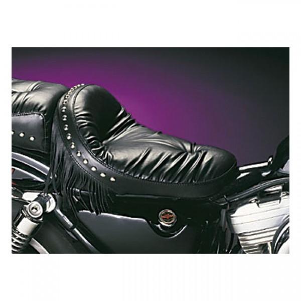 "LEPERA Seat - ""LePera, Monterey solo seat. Regal Plush with fringes"" - 82-03 XL (NU)"