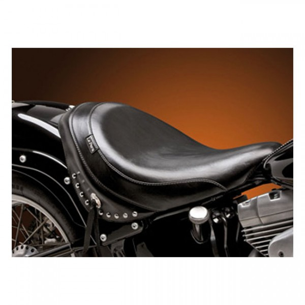 "LEPERA Sitz - ""Sanora solo seat. Smooth with skirt. Gel"" - 00-07 Softail FXSTD Deuce (NU)"