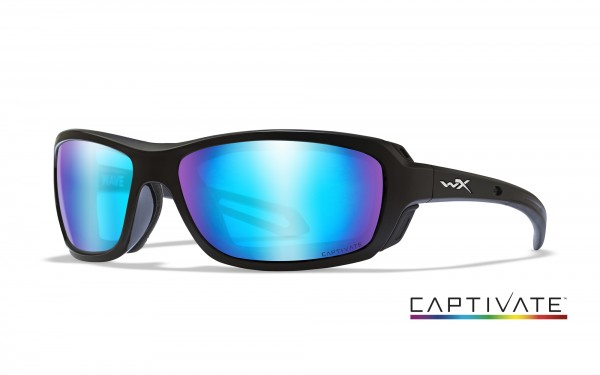 Wiley X Glasses Wave Captivate blue mirror