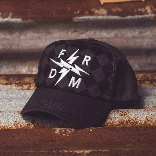 "HOLY FREEDOM Hat - ""FRDM"" - grey"