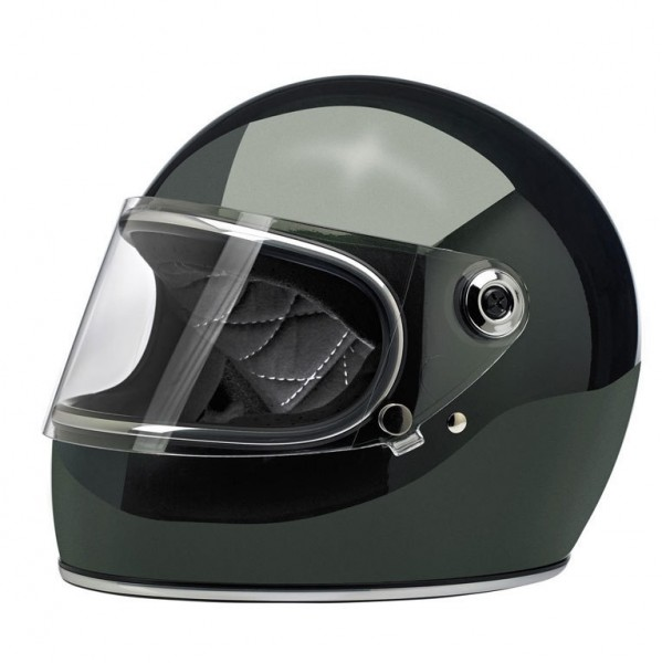 Biltwell Full Face Helmet Gringo S Sierra Green ECE-DOT