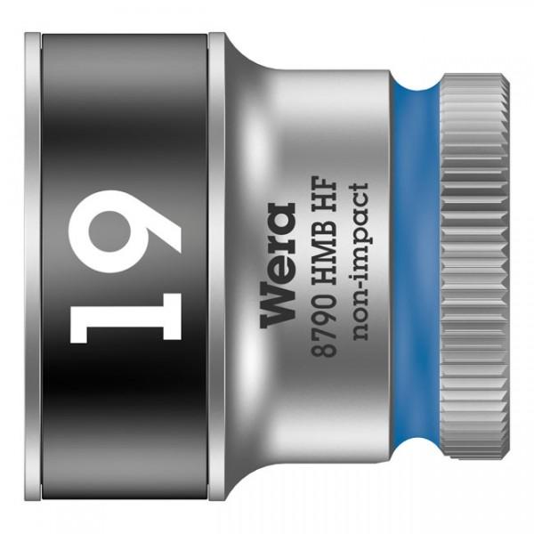 """WERA Werkzeug - """"Wera Zyklop 3/8""""-Nuss mit Haltefunktion - Metrisch 19,0"""" - Hex bolts and nuts"""