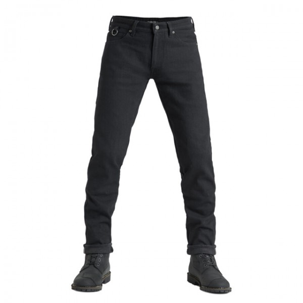 Pando Moto Jeans Steel Black 02 schwarz