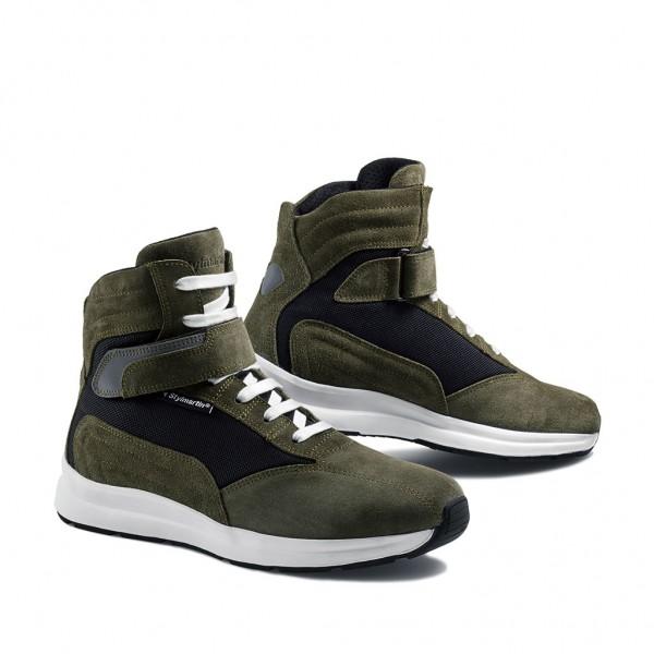 STYLMARTIN Motorcycle Sneakers Audax CE waterproof green