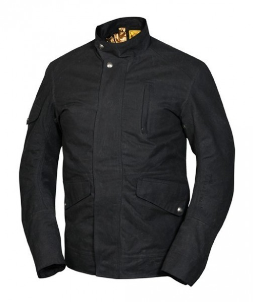 RSD - Clarion Black - Waxed Cotton Jacket