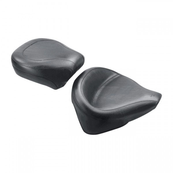 """MUSTANG Sitz - """"Mustang, Wide Touring solo seat"""" - 00-06 Softail with up to 150 stock tire (excl. De"""