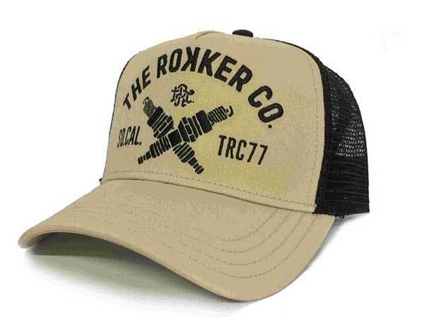 """ROKKER Cap - """"TRC77 Trukker"""" - beige"""