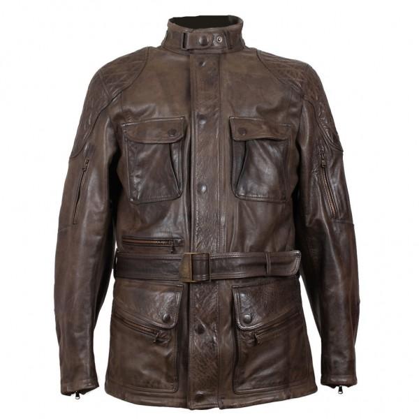 """MATCHLESS PM Jacket - """"Streetfarer Evolution"""" - antique brown"""