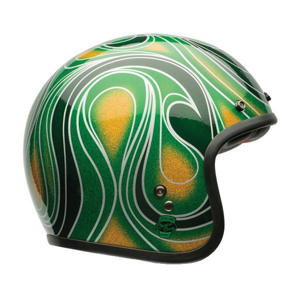 """BELL Custom 500 - """"Chemical Candy Mean Green"""" - ECE"""