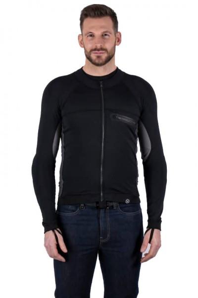 "KNOX Baselayer - ""Action Shirt"" - schwarz & grau"