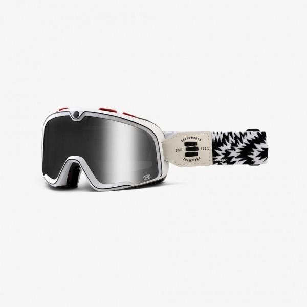"100% BARSTOW Retro Crossbrille - ""Death Spray Custom"""