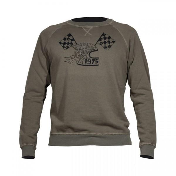 """DMD Sweatshirt - """"1975"""" - militär-grün"""