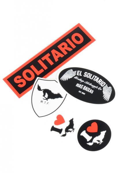 "EL SOLITARIO Aufkleber - ""ES Sticker Pack"" - 5-teilig"