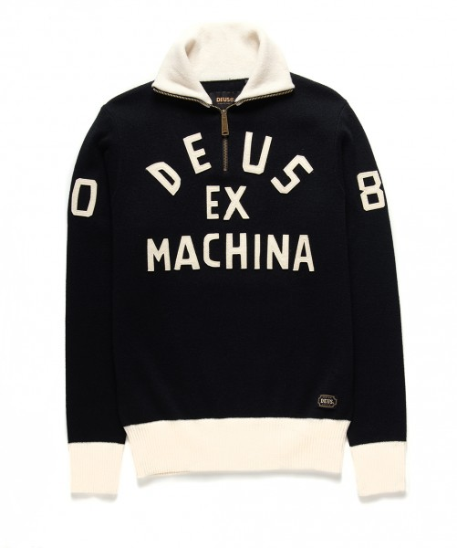 Deus ex Machina Revolution Knit DMF98050 black