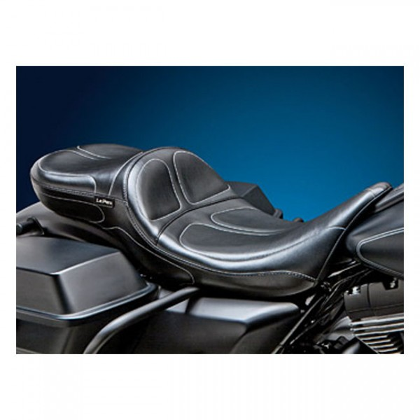 "LEPERA Sitz - ""Maverick 2-up seat. Daddy Long Legs"" - 97-01 FLHR Road King (NU)"