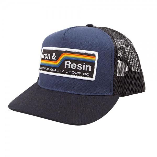 """IRON & RESIN Hat - """"Baker"""" - navy"""
