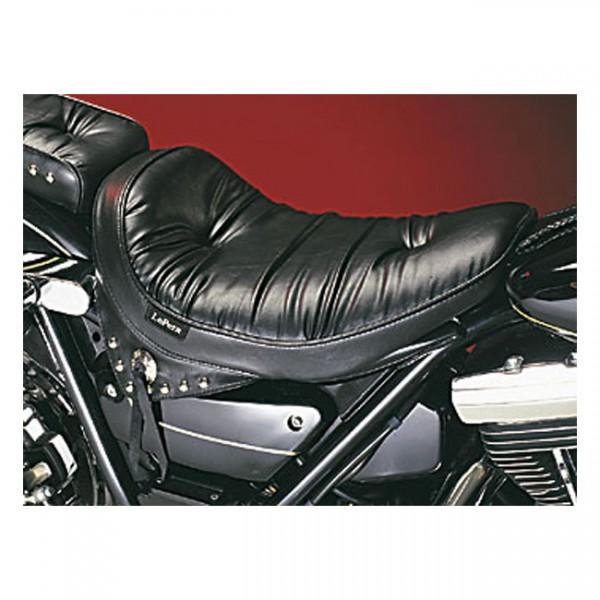 "LEPERA Sitz - ""Sanora solo seat. Regal Plush with skirt. Gel"" - 82-94 FXR (NU)"