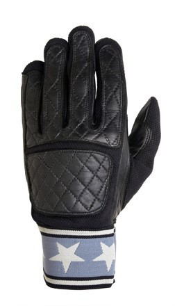 "ROLAND SANDS Gloves - ""Peristyle"" - black"