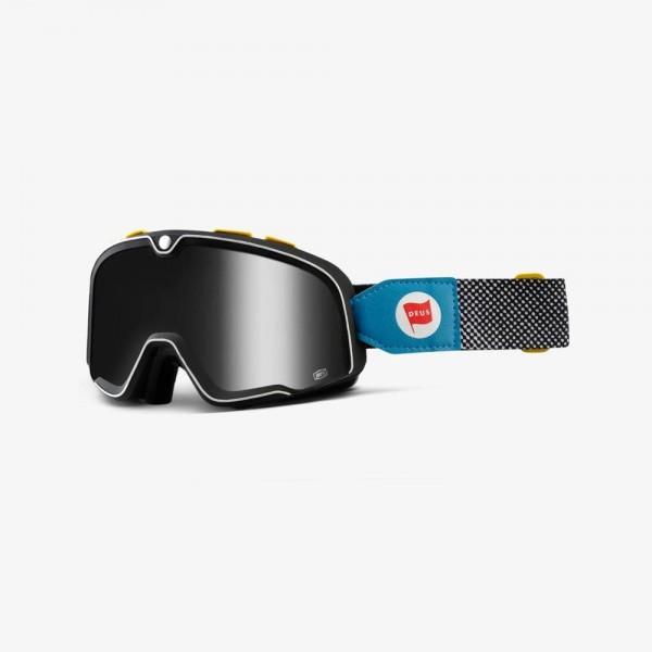 "100% BARSTOW - ""Deus 17"" - vintage motocross goggles"