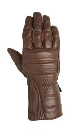 "ROLAND SANDS - ""Judge"" - tobacco - Motorcycle Gauntlet Gloves"